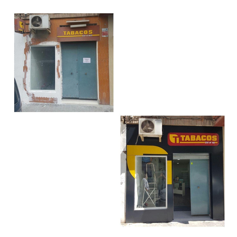 Recubrimiento de fachadas: Productos y servicios de PQ Rótulos