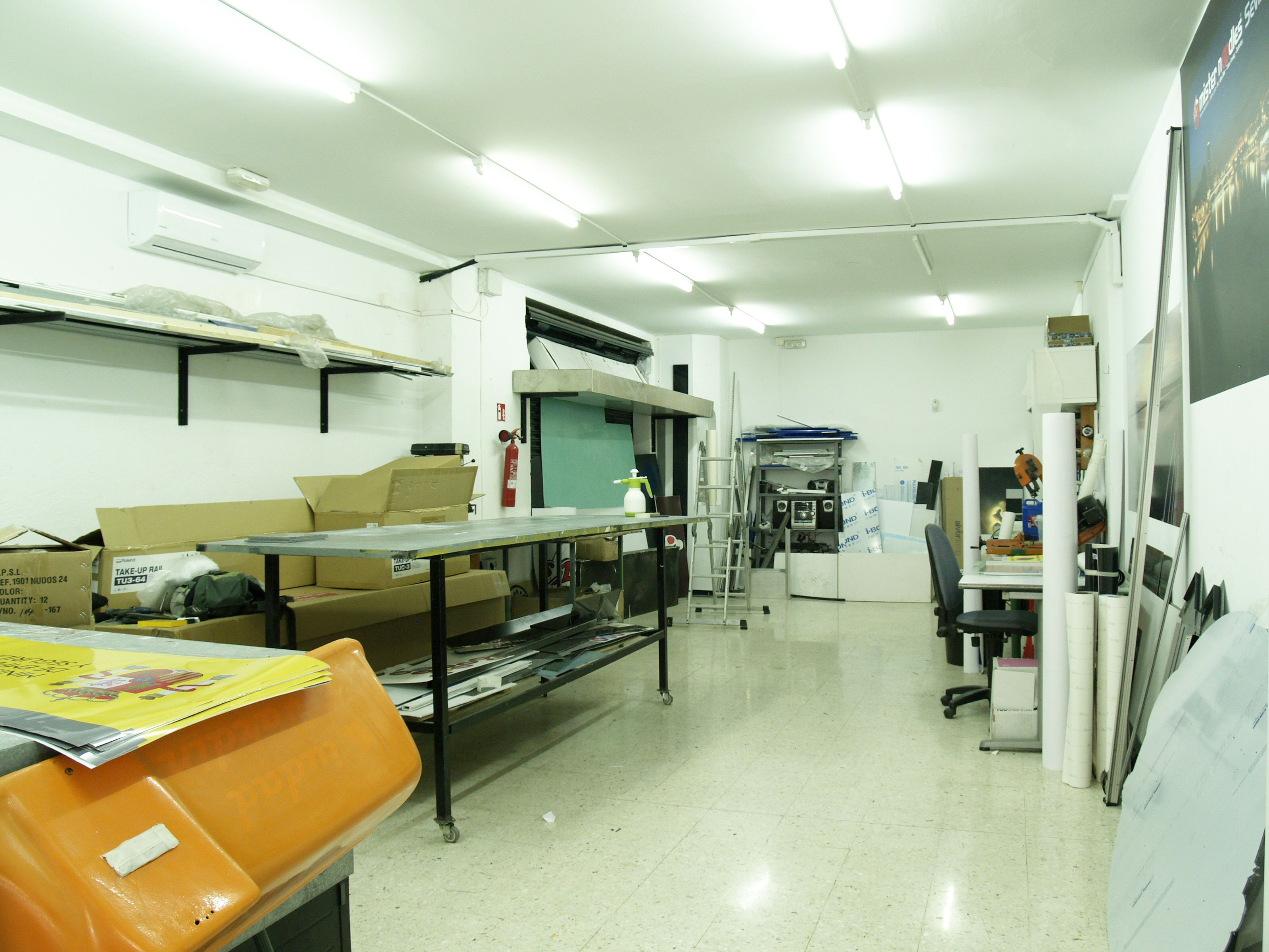 Imprenta especializada en gran formato en Sevilla