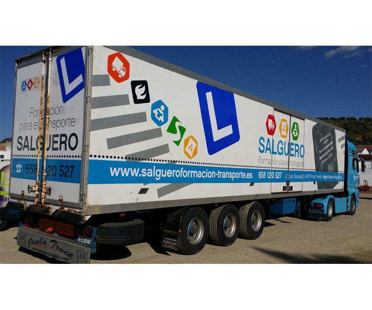 Rotulación de camiones de empresas