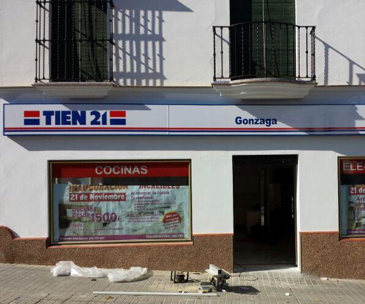 Rótulo para local Tien 21