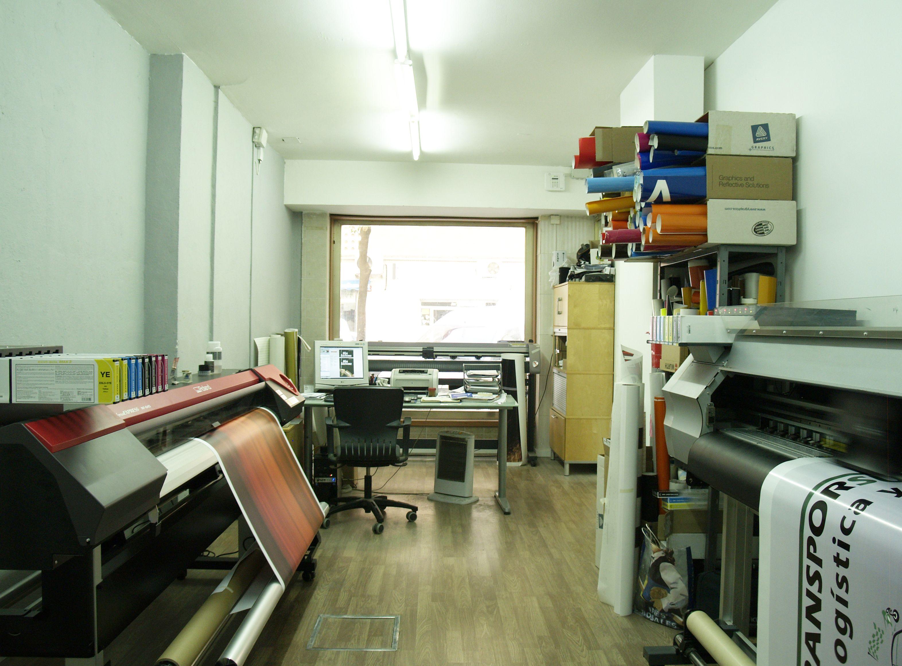 Imprenta en Sevilla