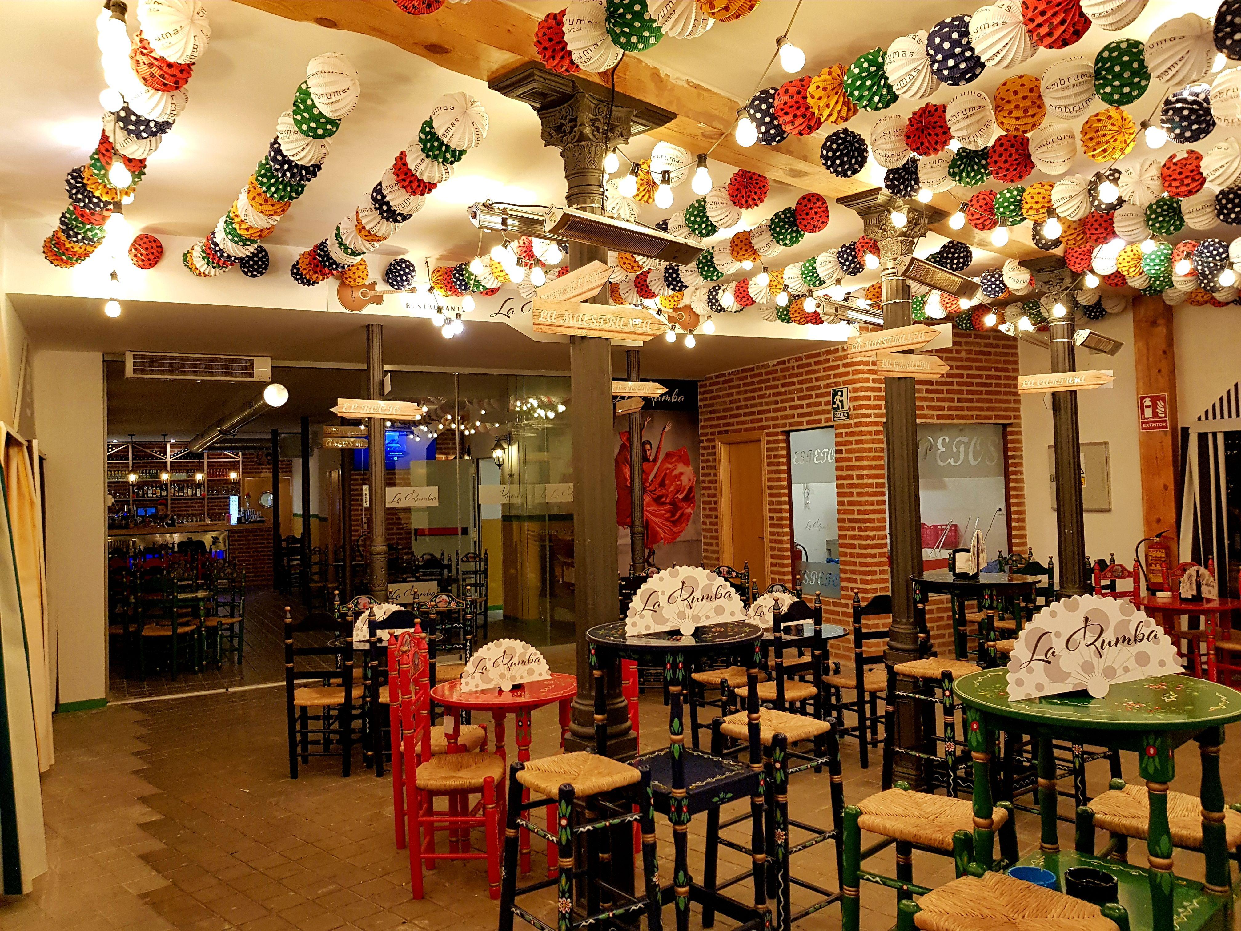 Foto 1 de Restaurantes espectáculo en Madrid | Restaurante La Rumba