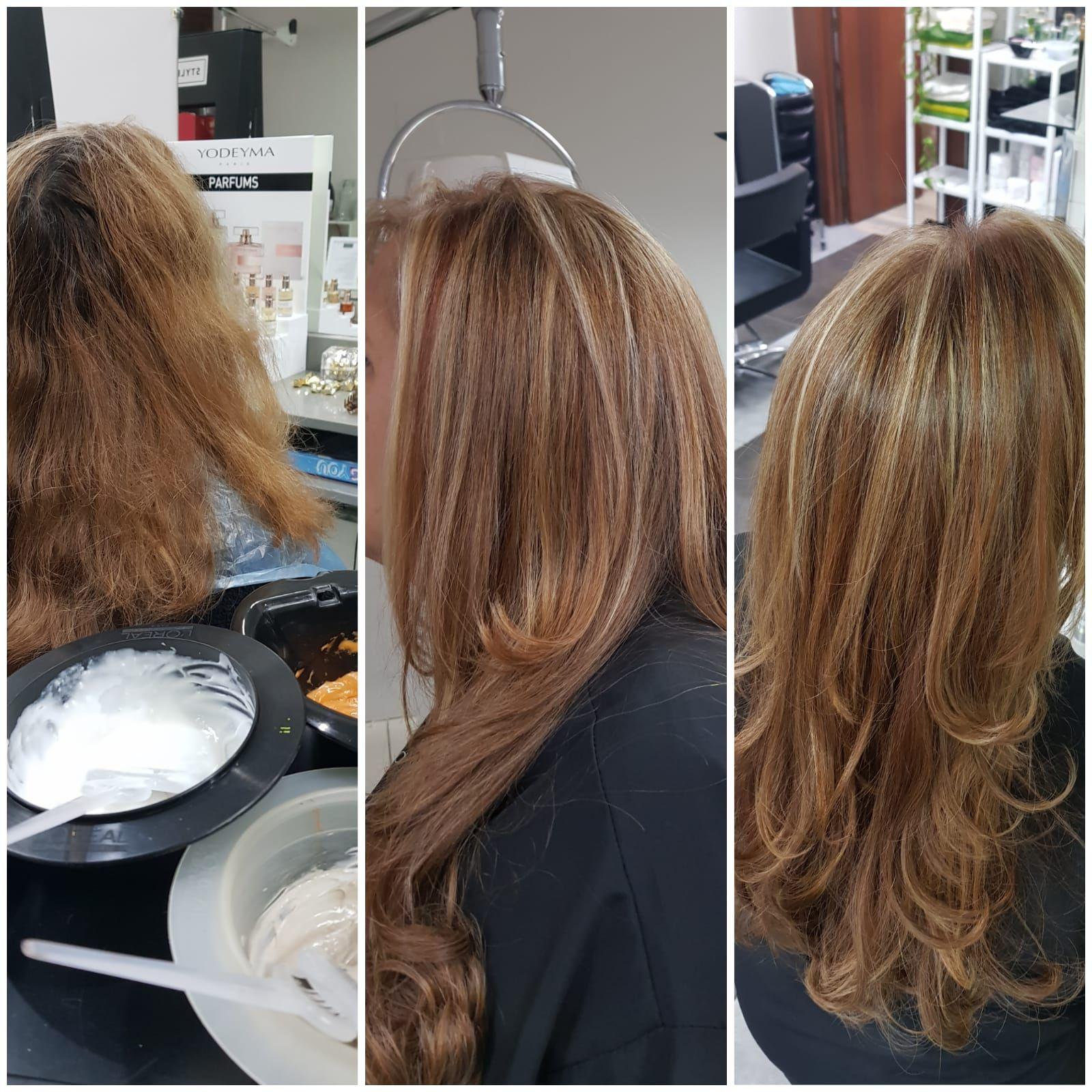 Cambia el color de tu pelo