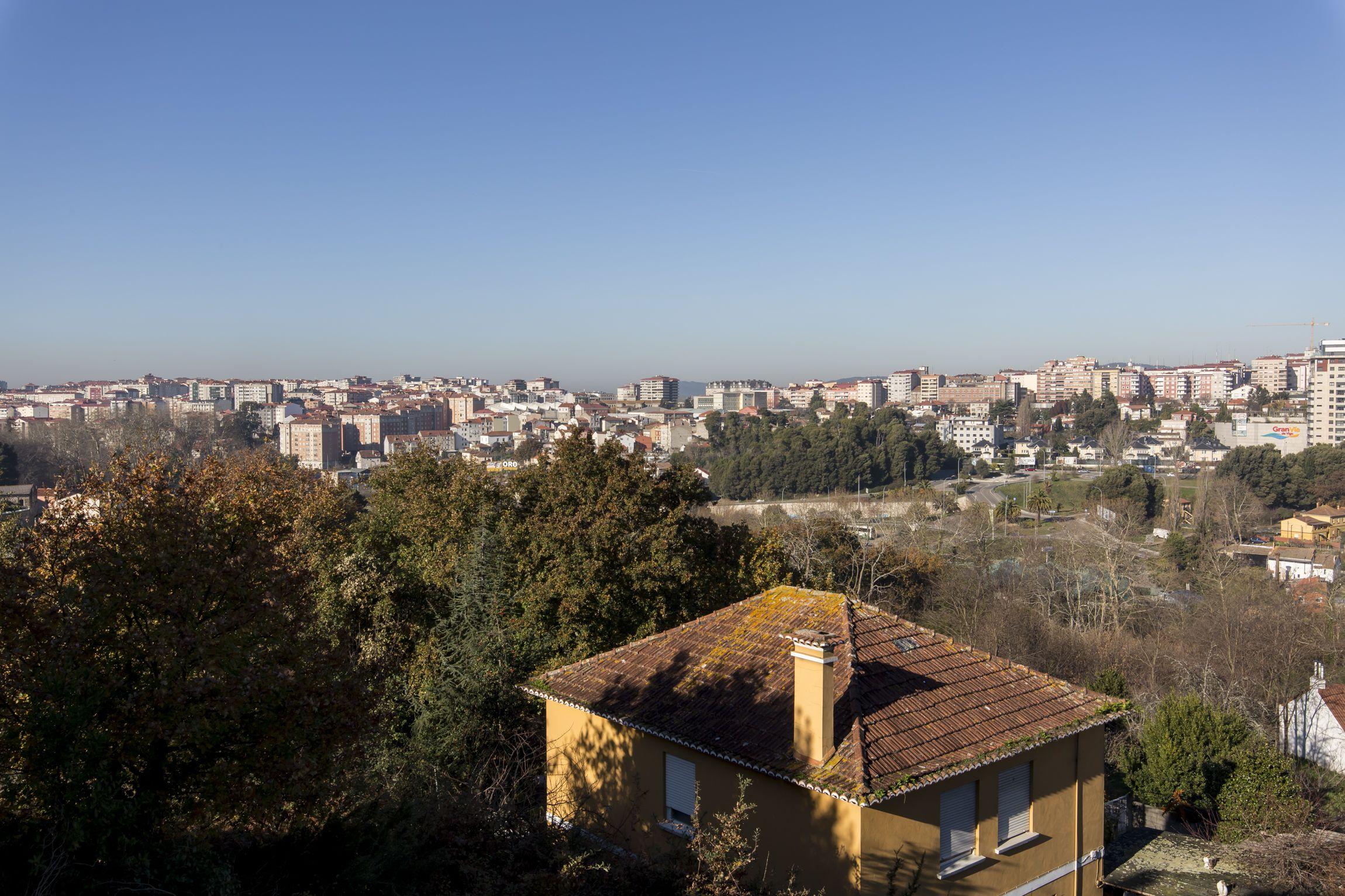 Inmejorables vistas sobre la ciudad de Vigo
