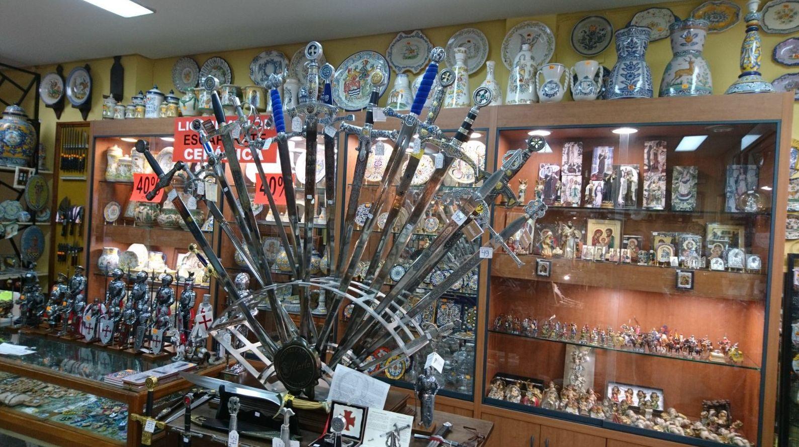 Espadas acero Toledano