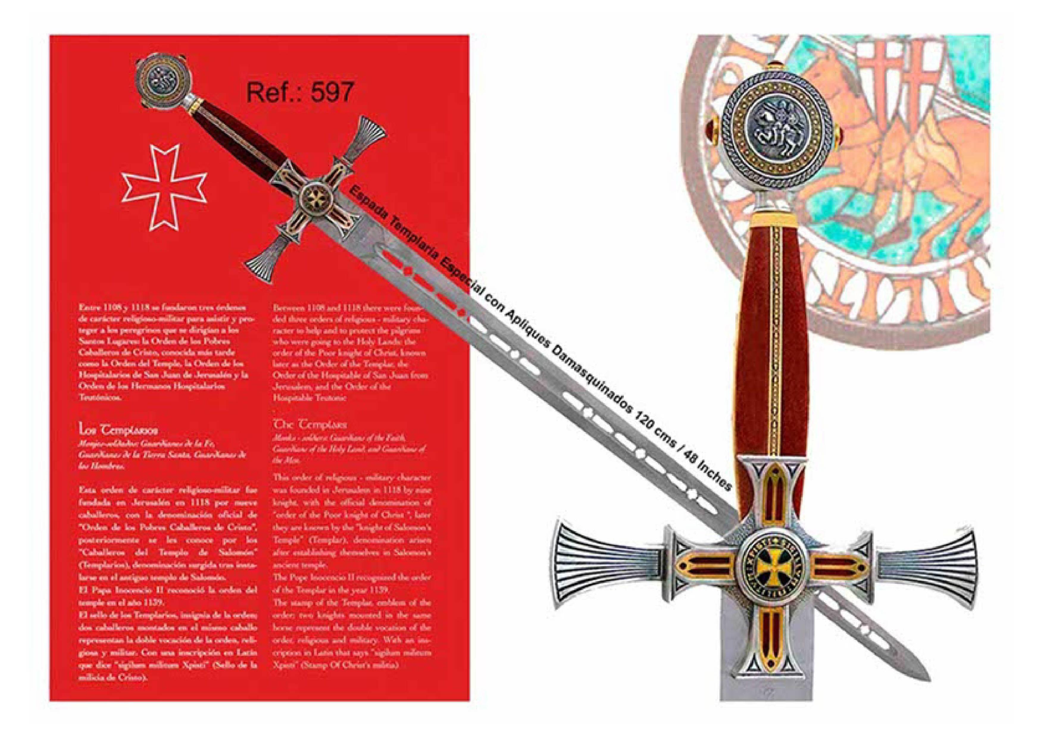 Gran Maese Templaria: Productos  de Aceros de Toletvm