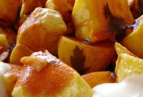 Patatas bravas  en Móstoles