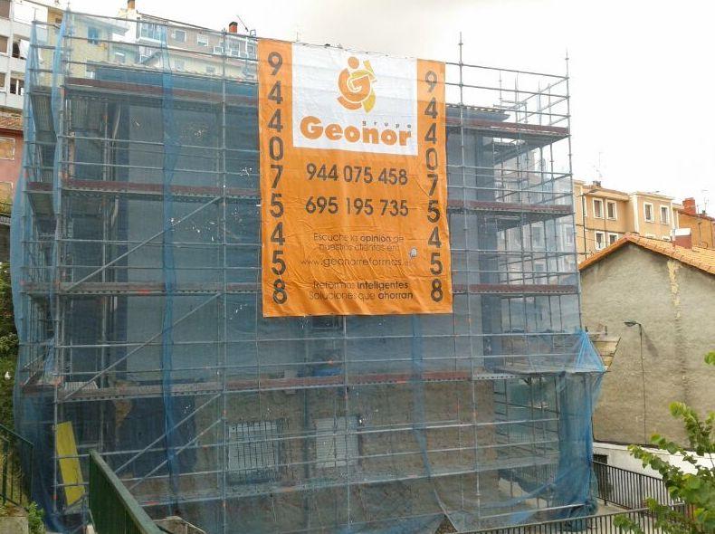 Proyecto de reforma de fachada en calle Betolaza de Bilbao
