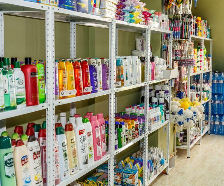 Venta de productos de higiene personal