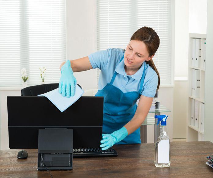 Limpieza de oficinas y despachos en Gandía