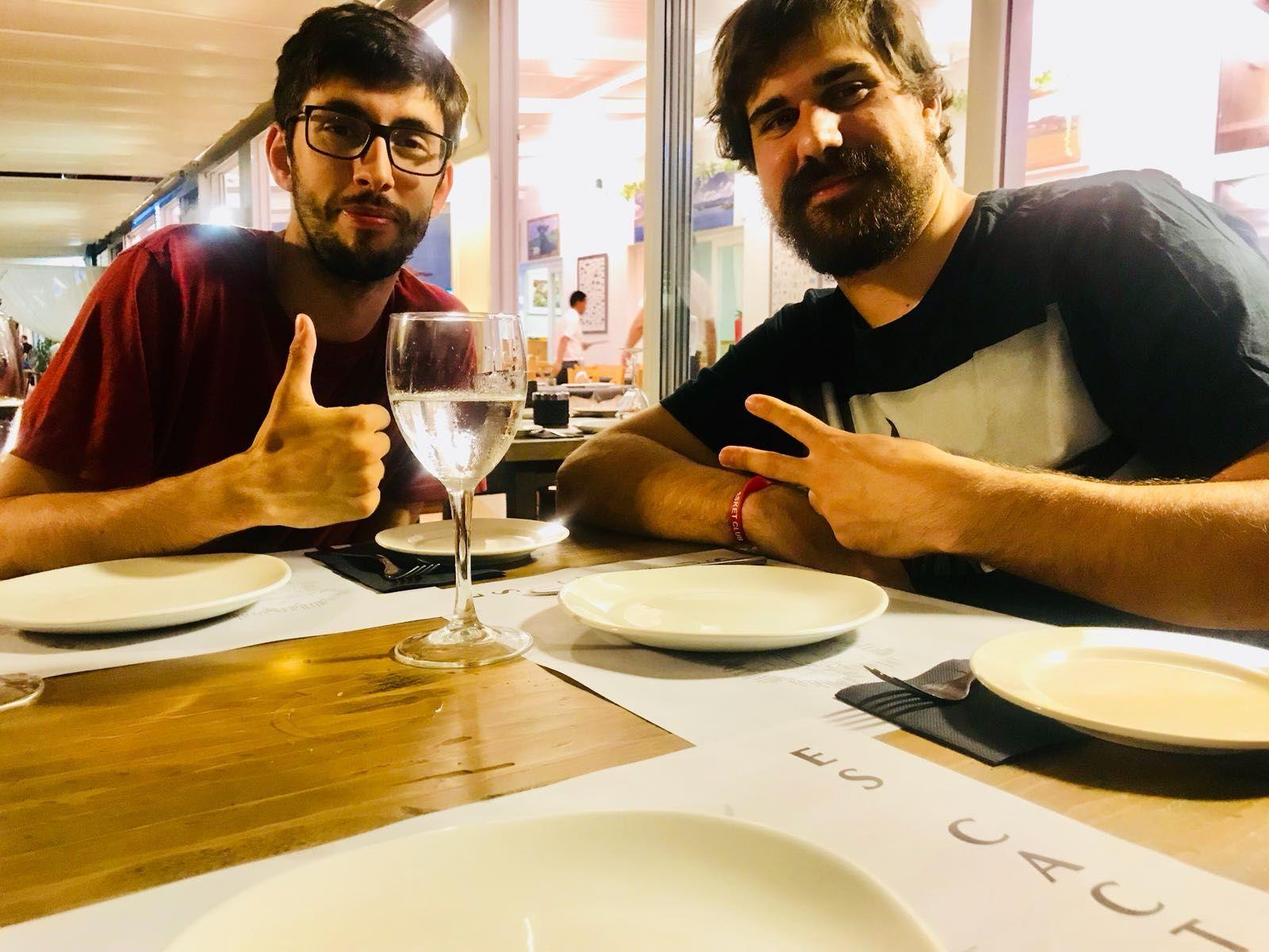 Reuniones entre amigos en El Mercadal