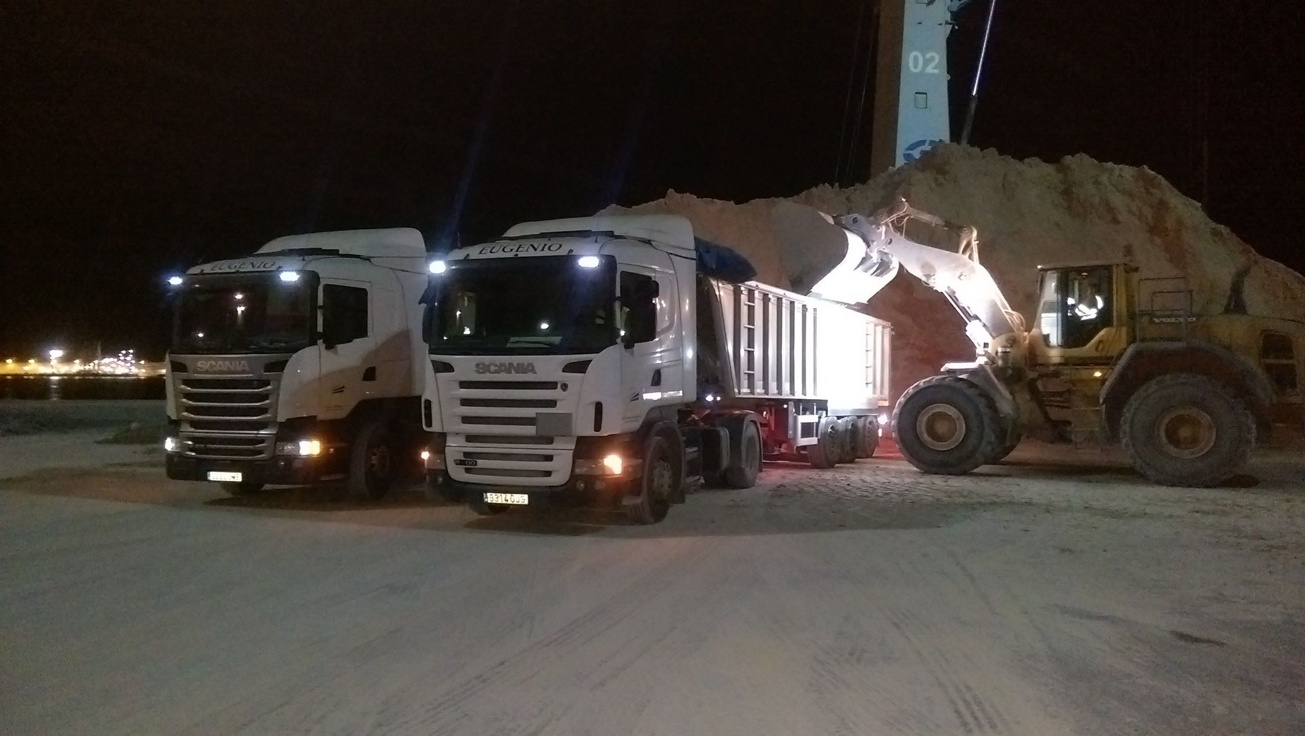 Actividad de carga en PortSur Castellón