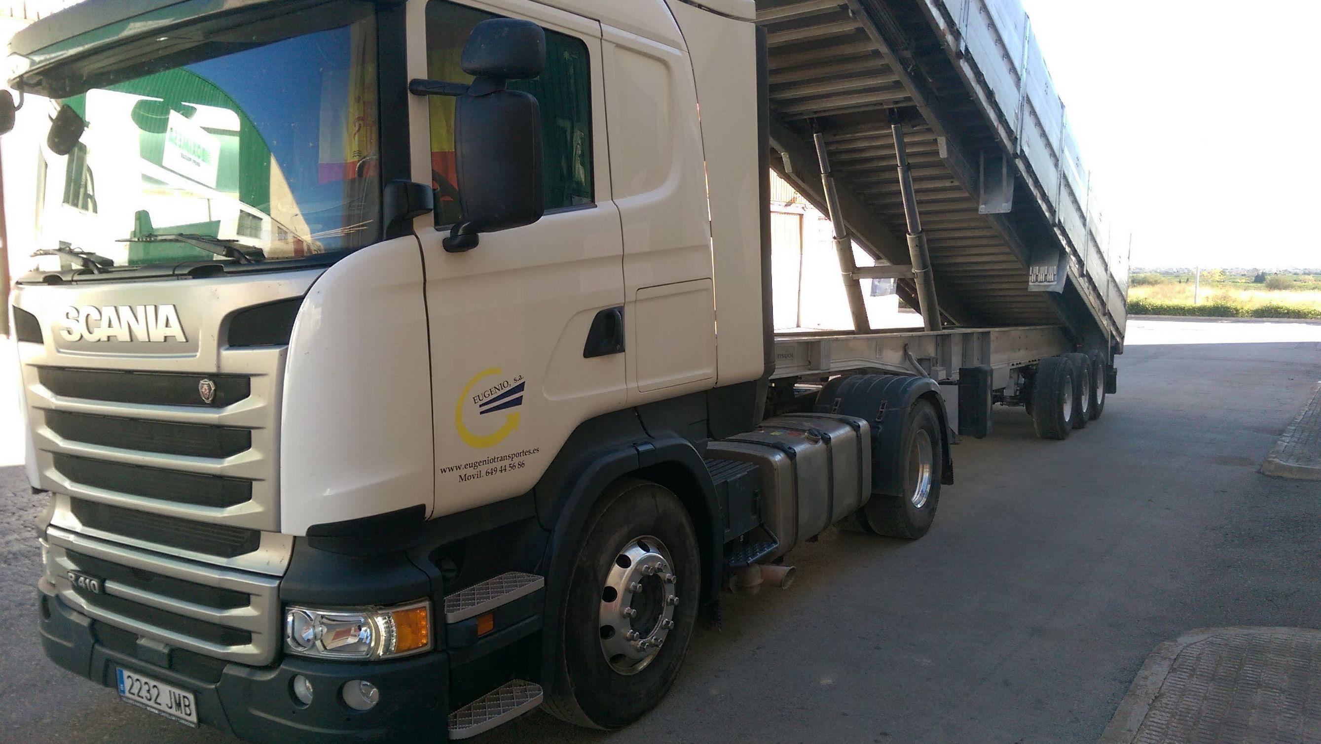 Foto 7 de Transporte de mercancías en Ribesalbes | EUGENIO, S. A.