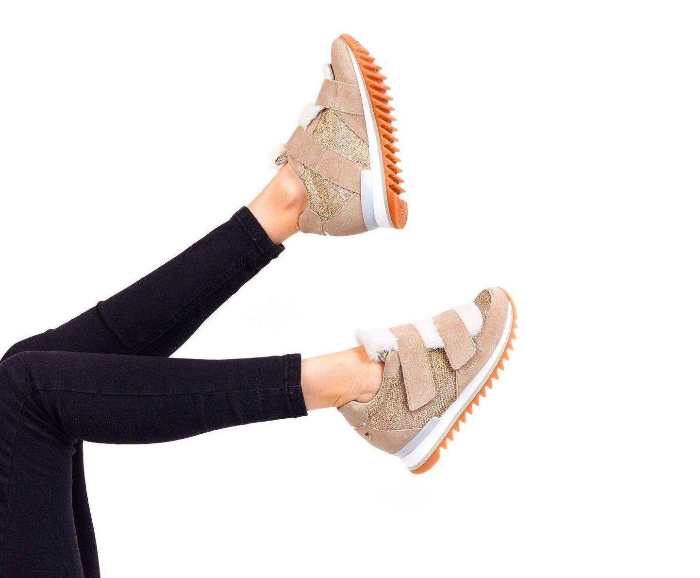 Sneakers blancas lengueta