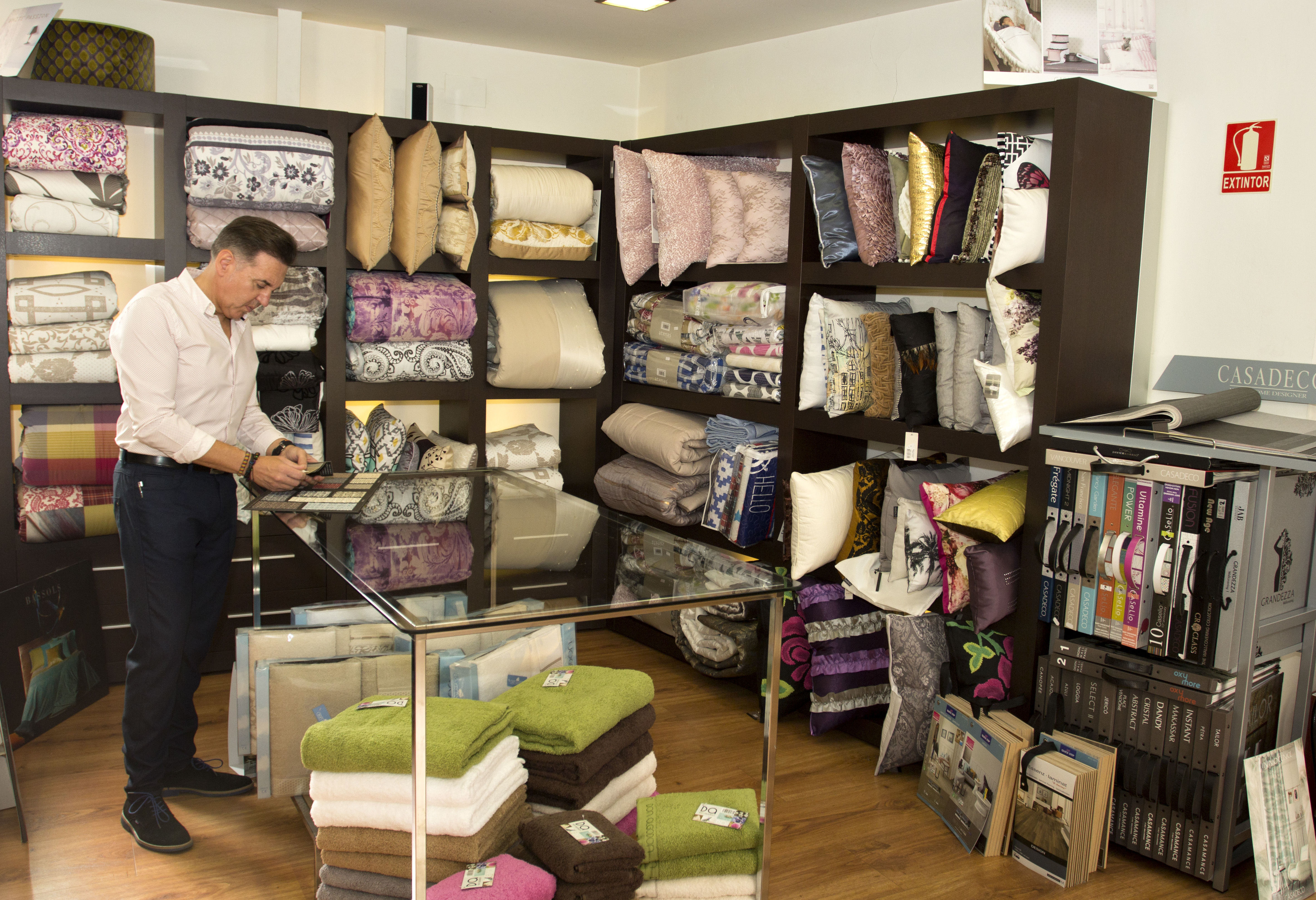 Textil hogar en Nájera, La Rioja