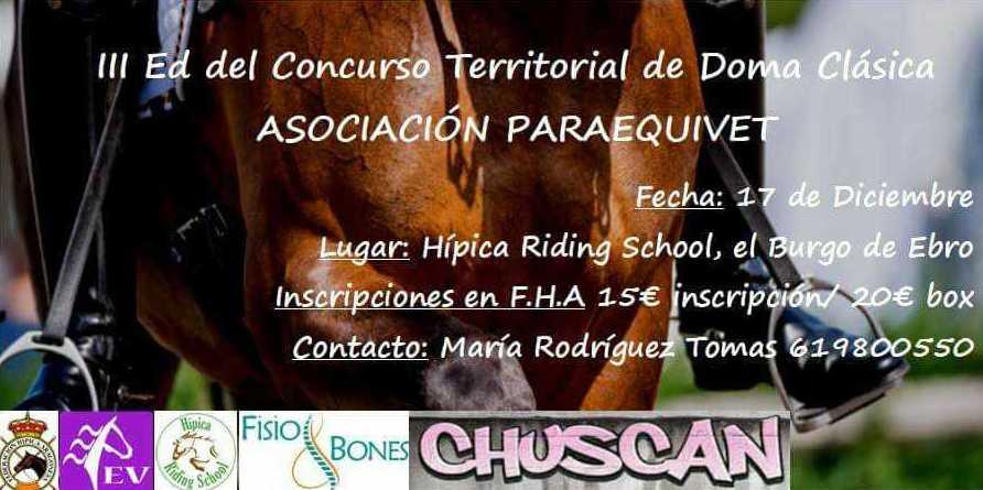 3ª EDICIÓN DEL CONCURSO TERRITORIAL DE NAVIDAD DE DOMA CLÁSICA