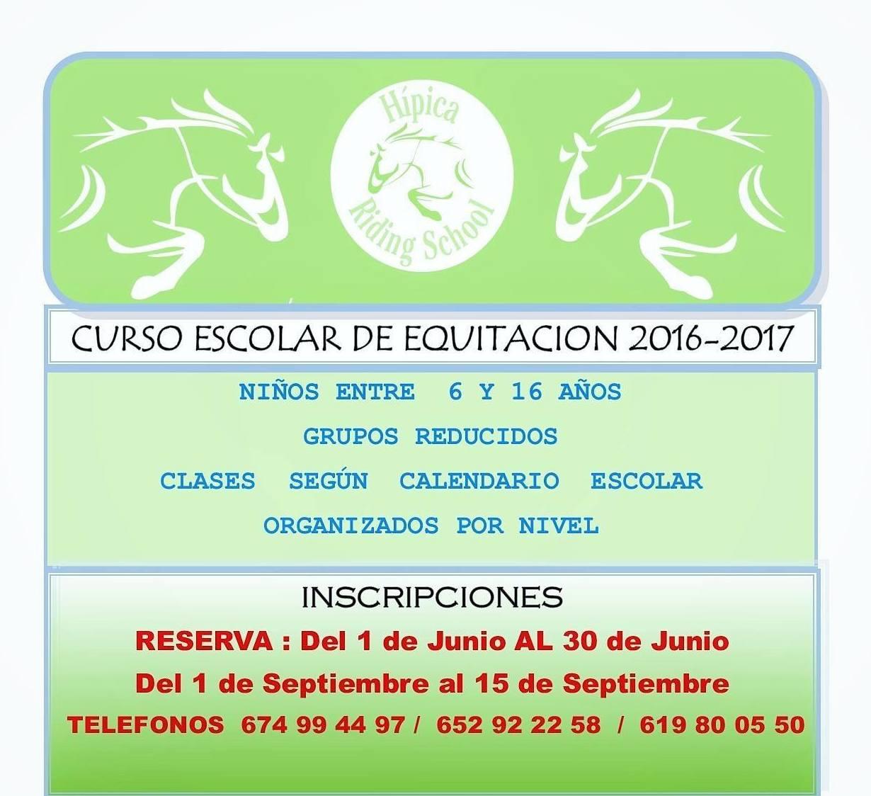 CURSO ESCOLAR 2016-2017