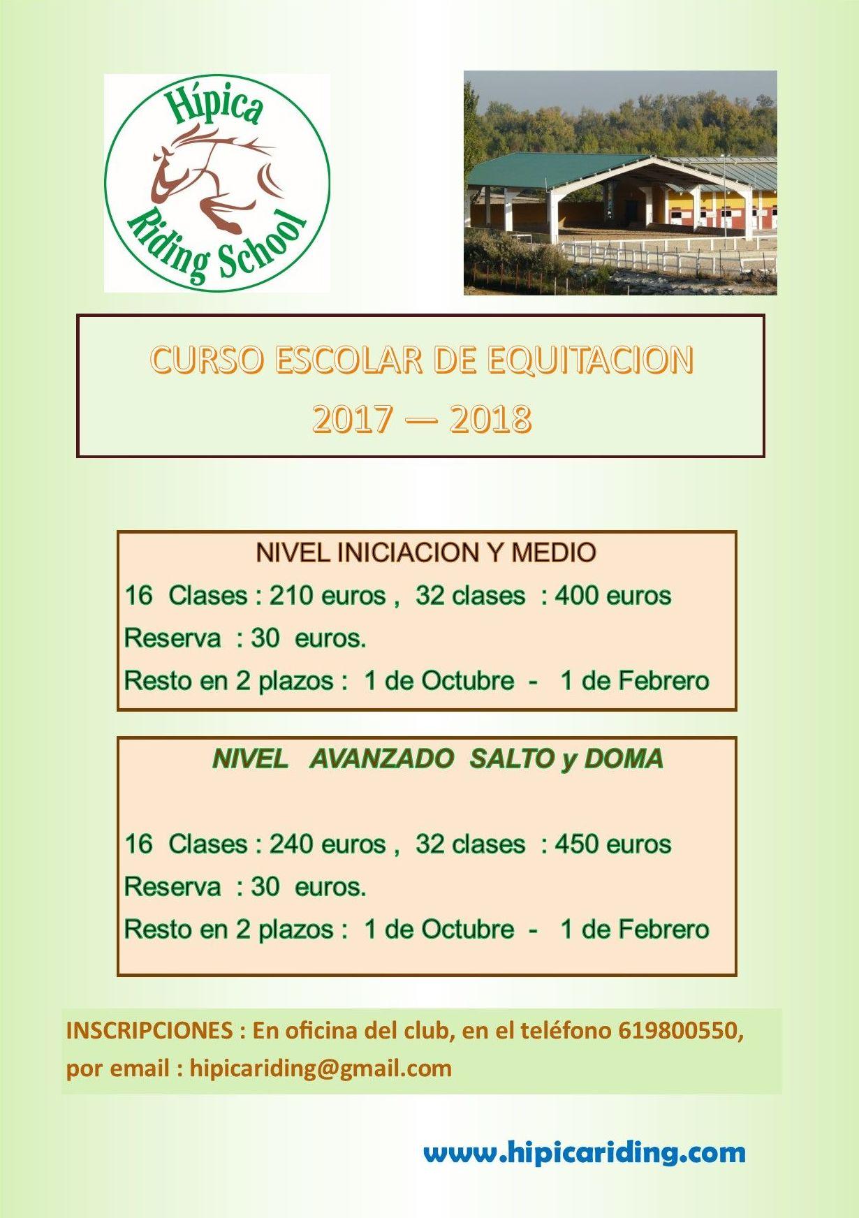 Clases de equitación Zaragoza