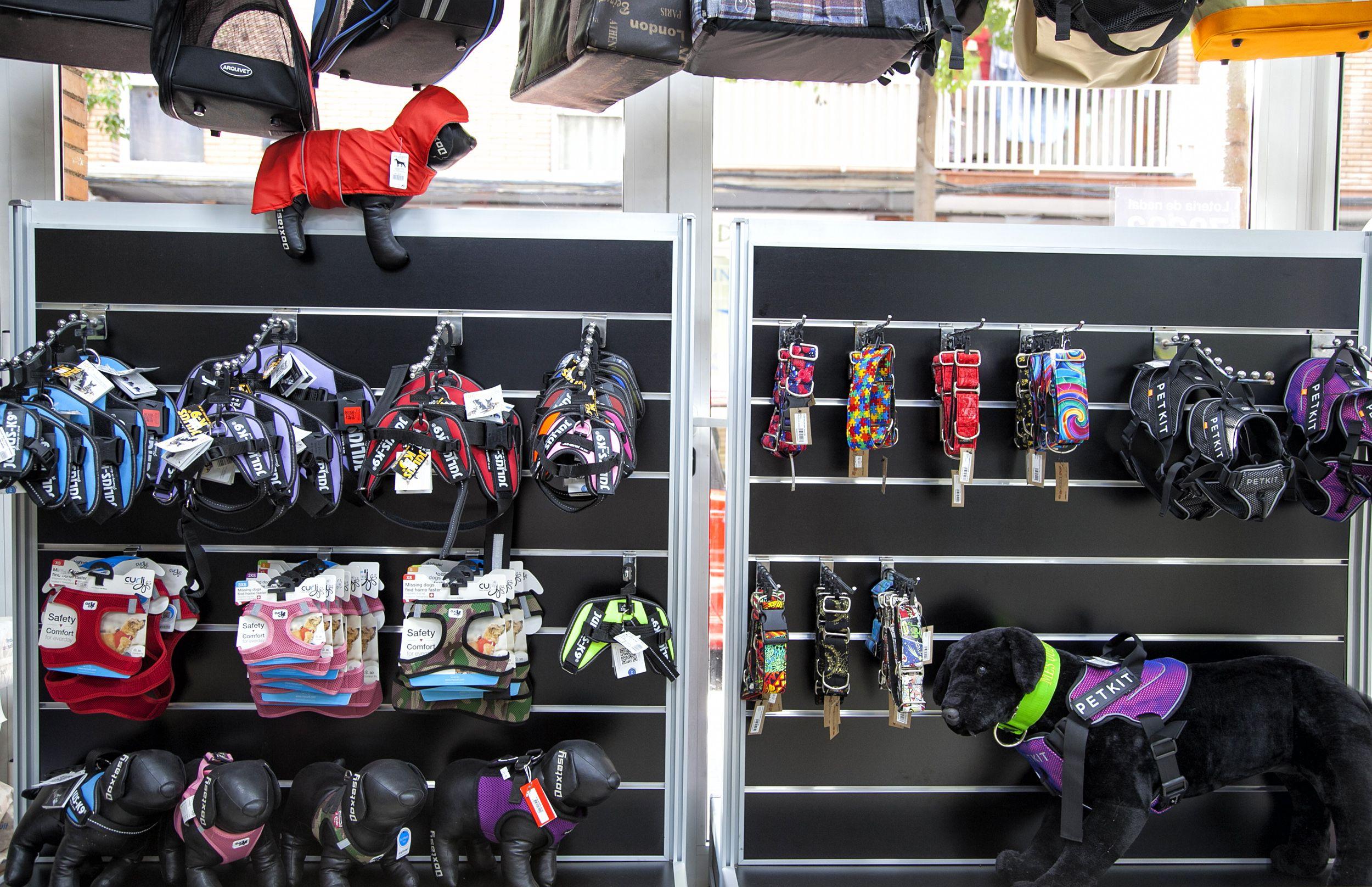 Tienda de accesorios y complementos para mascotas