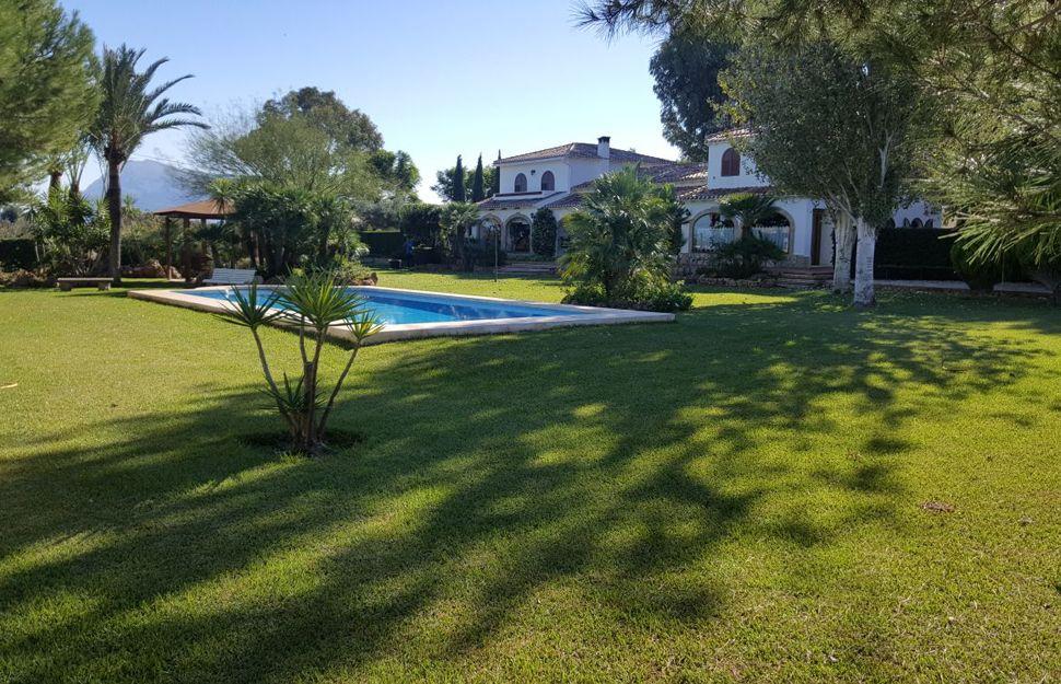 Mantenimiento de jardines en Oliva, Valencia