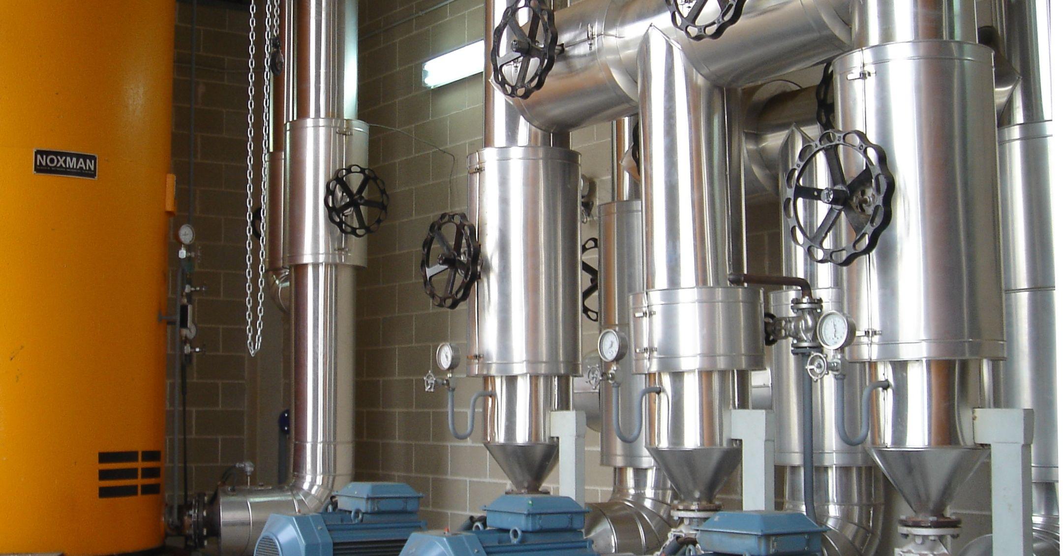 Instalaciones de fluido térmico Barcelona