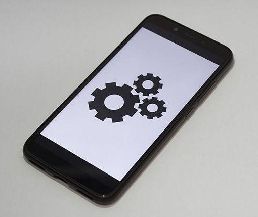 Configuración de móviles de informática Ecoservei