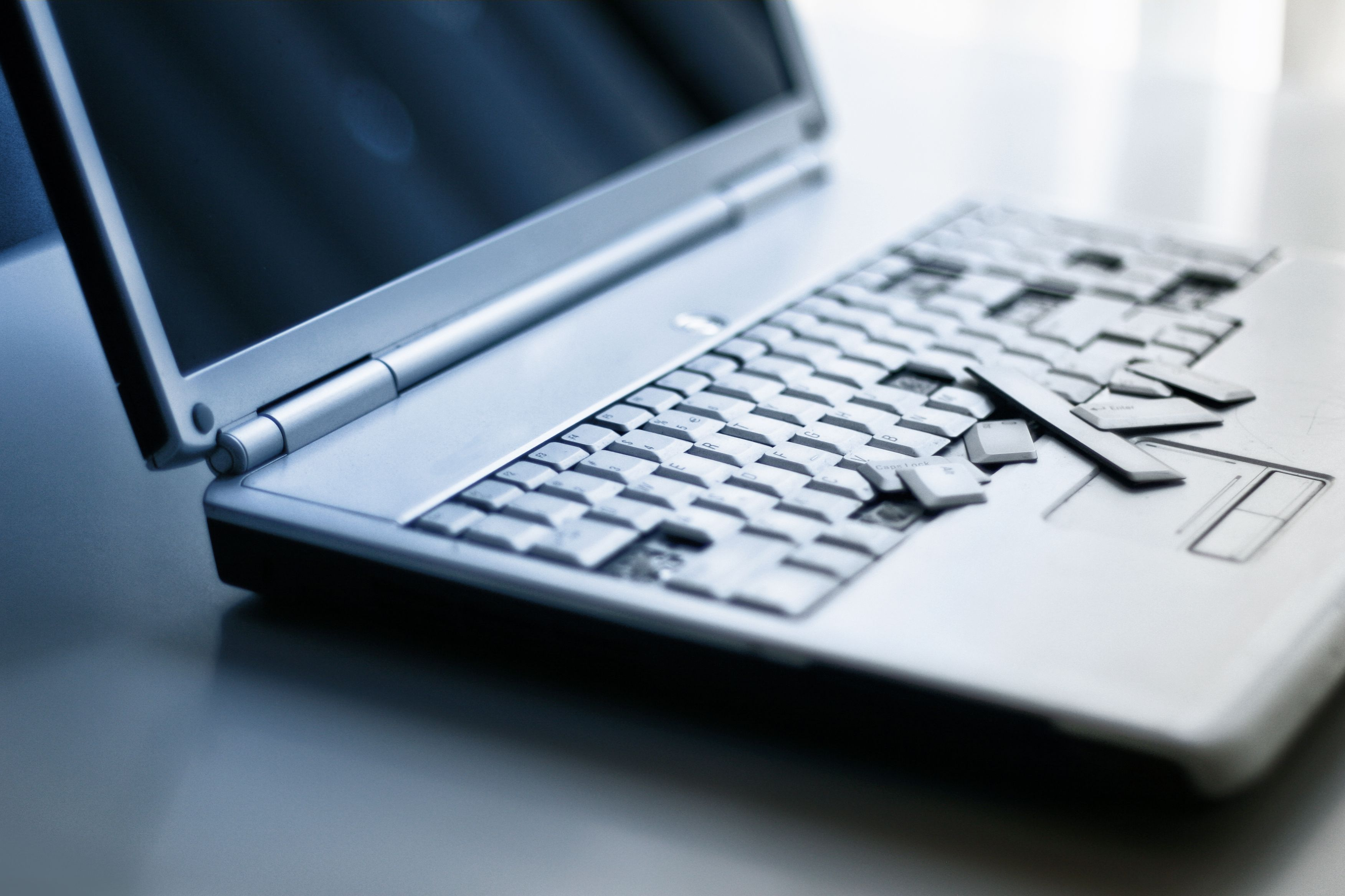 Reparación de teclados y pantallas: Servicios especializados de Informática Ecoservei