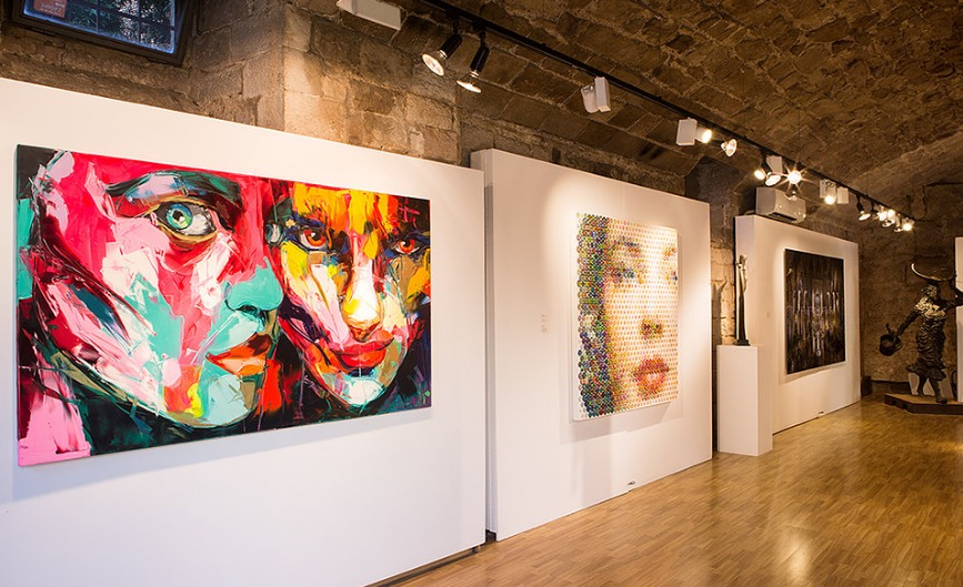 Galería de arte contemporáneo ubicada en pleno barrio gótico Barcelonés