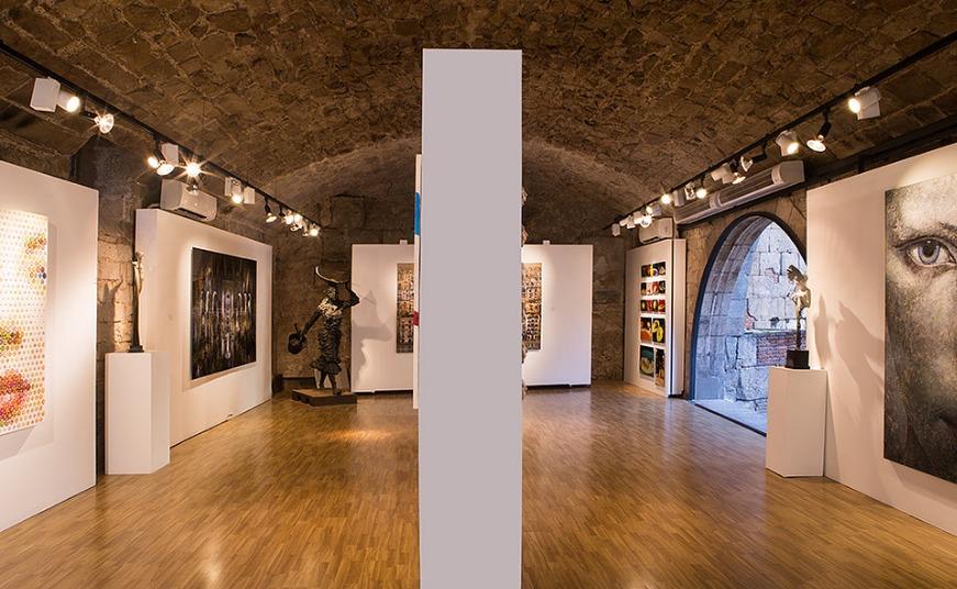 Visita nuestra galería de arte contemporáneo en Barcelona