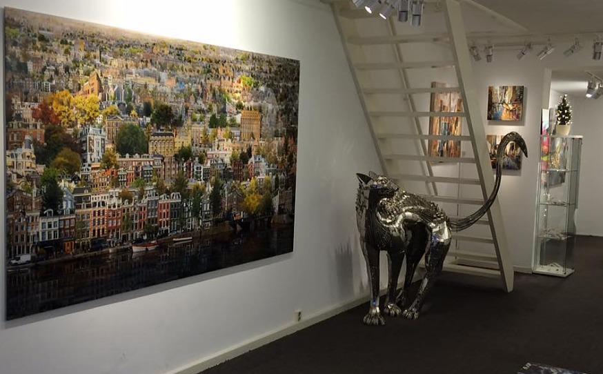 Visita nuestra galería de arte en Ámsterdam