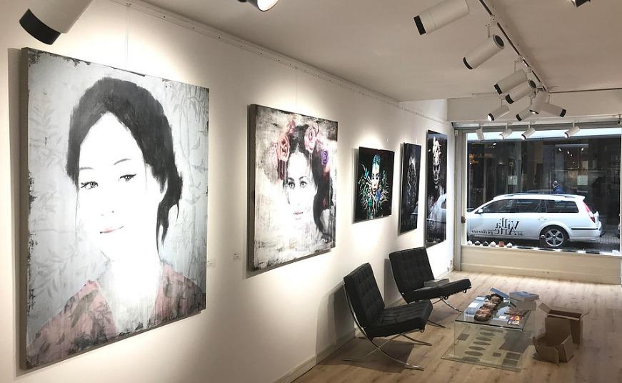 Galería de arte contemporáneo en Ámsterdam