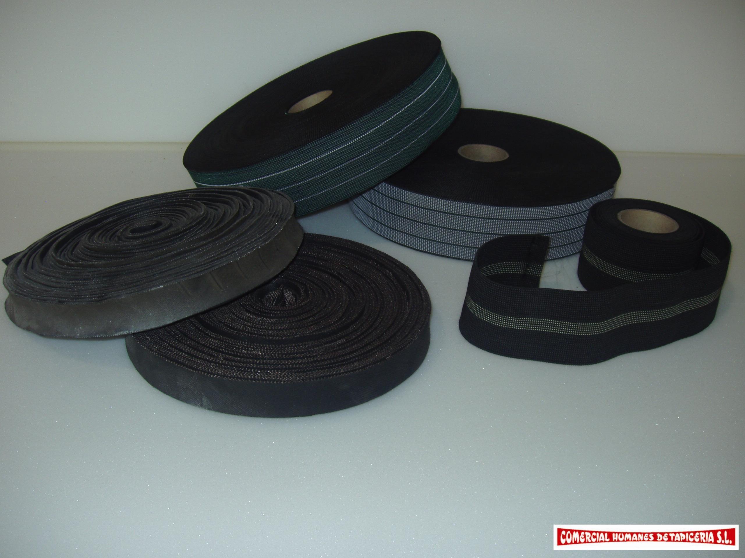 Cincha Elástica y Tiracor Neumático: Productos y Servicios de Comercial Humanes de Tapicería, S.L.