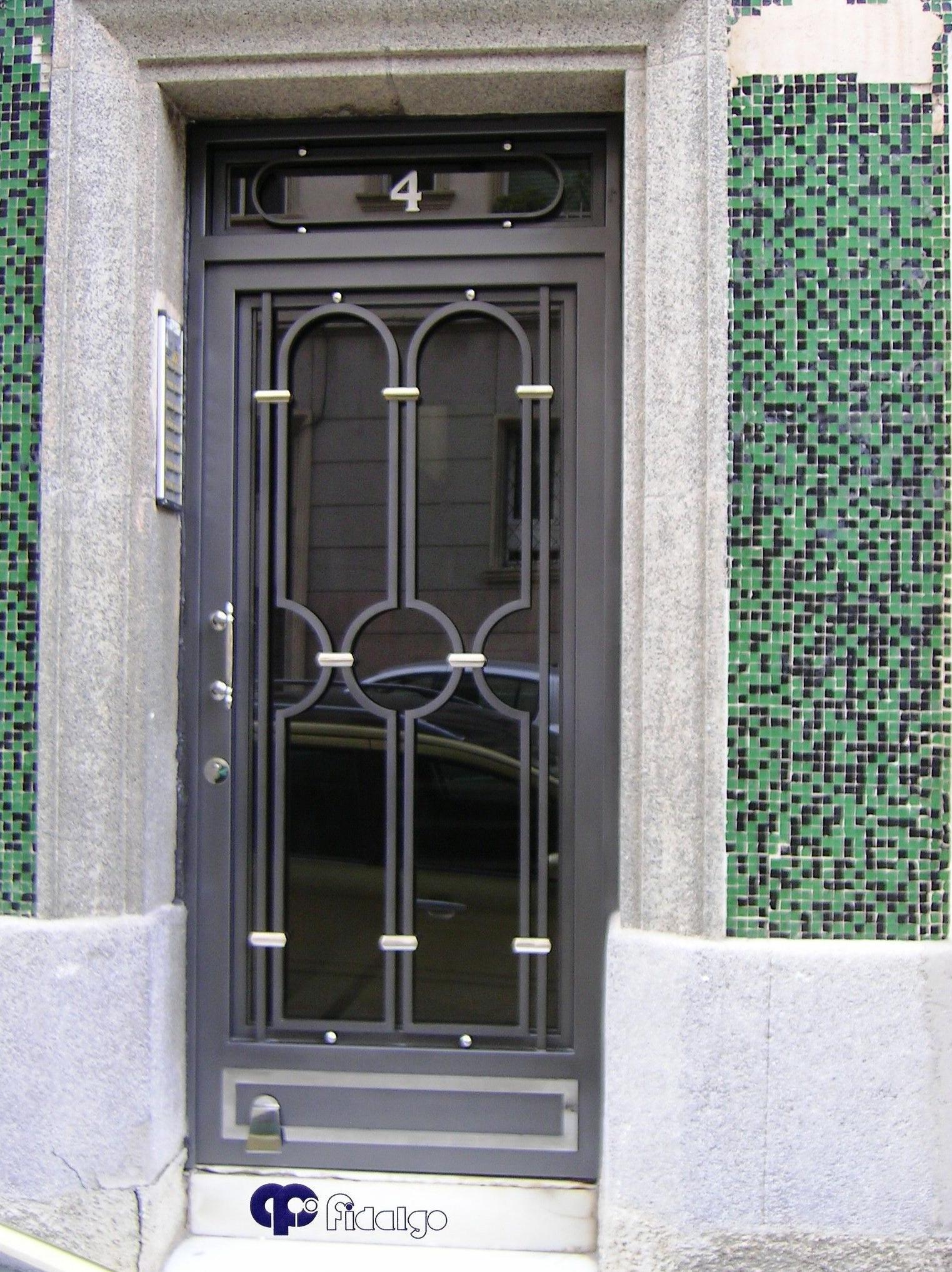 Foto 19 de cierres y puertas met licas en barcelona for Puertas corredizas metalicas