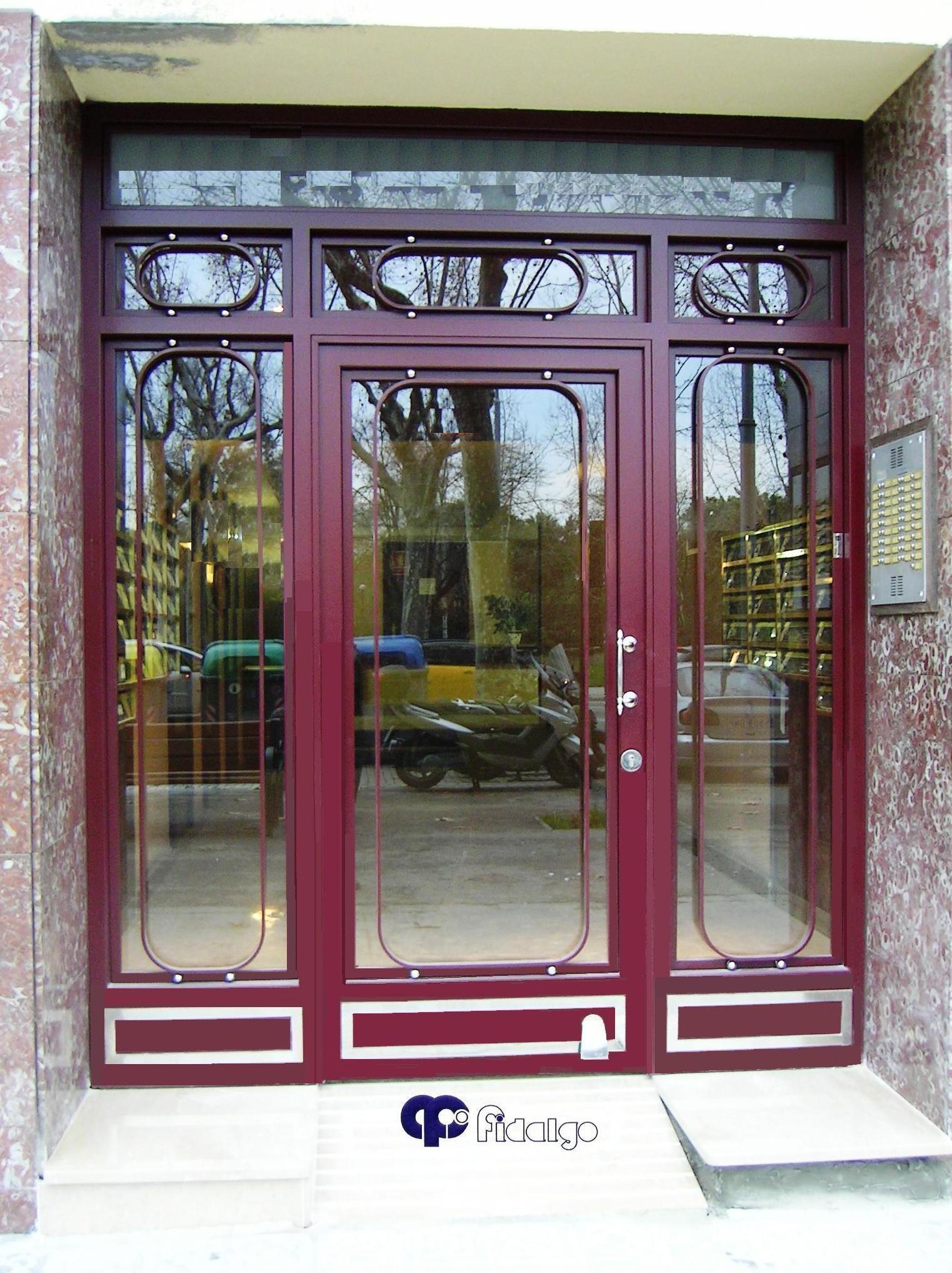 Puertas en acero inoxidable. Puertas de Forja. Puertas de hierro