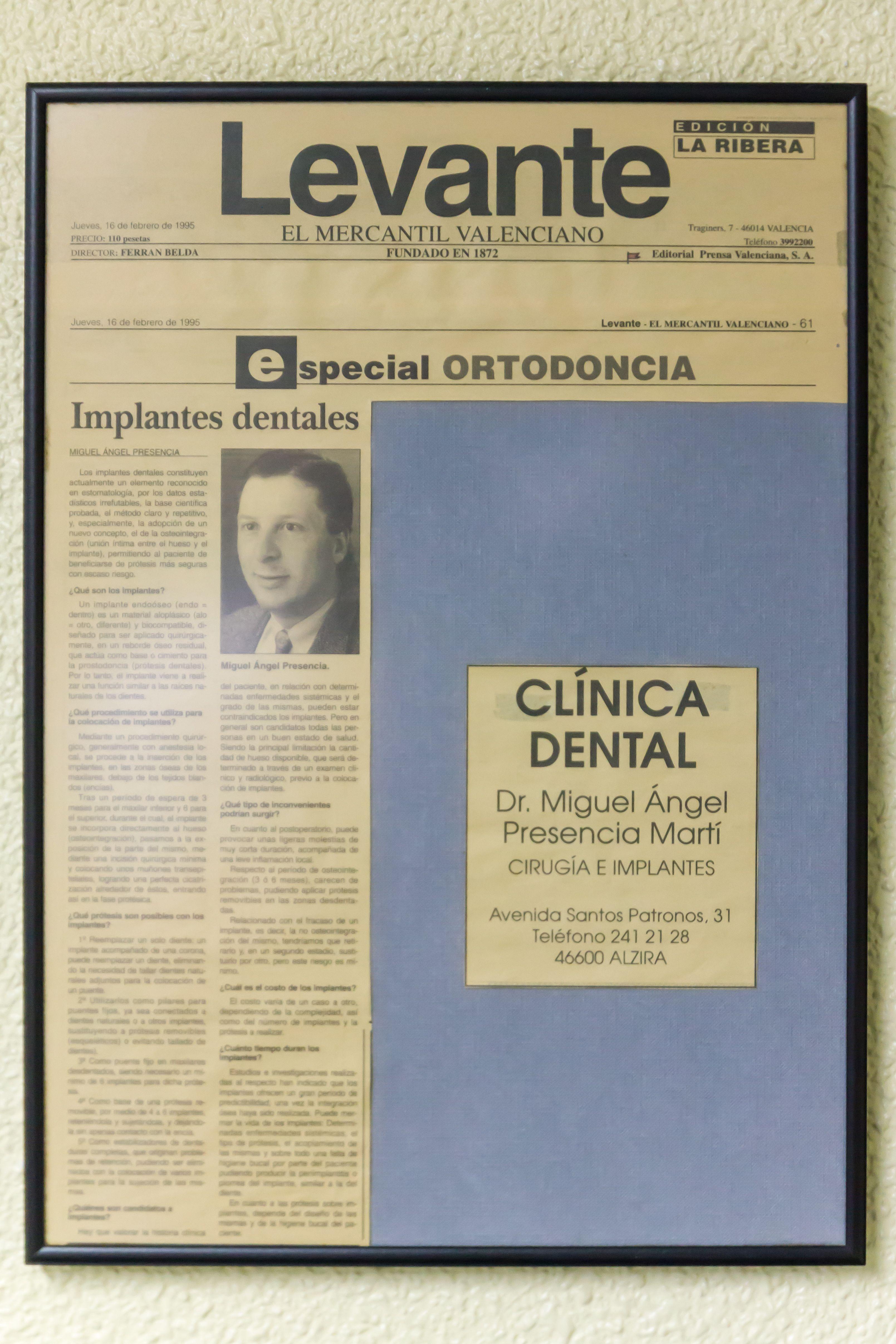 Foto 7 de Dentistas en Alzira | Clínica Dental Presencia