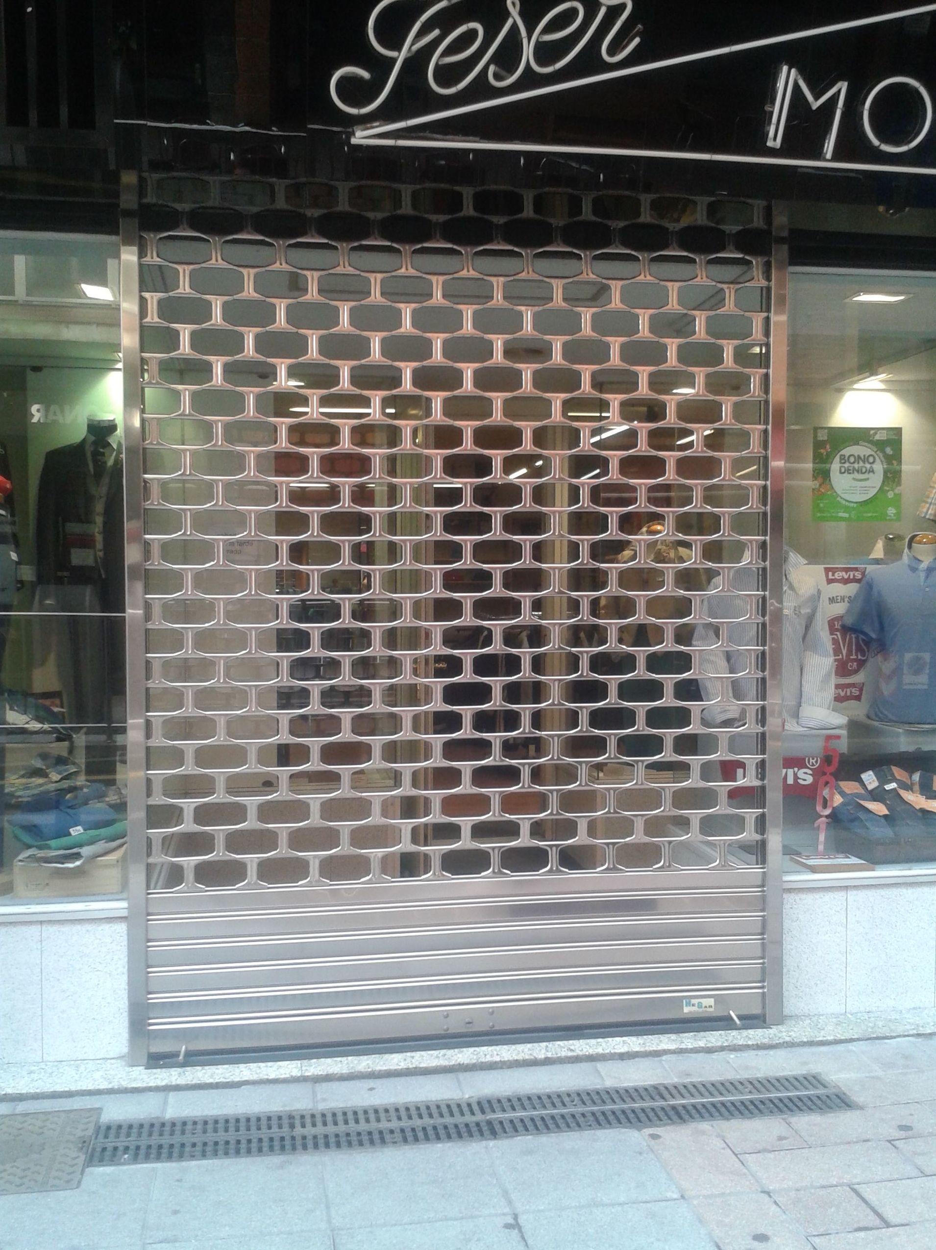 Persianas metálicas Hegar   Puertas metálicas Bilbao
