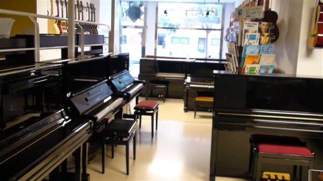 Tienda de pianos en Barcelona