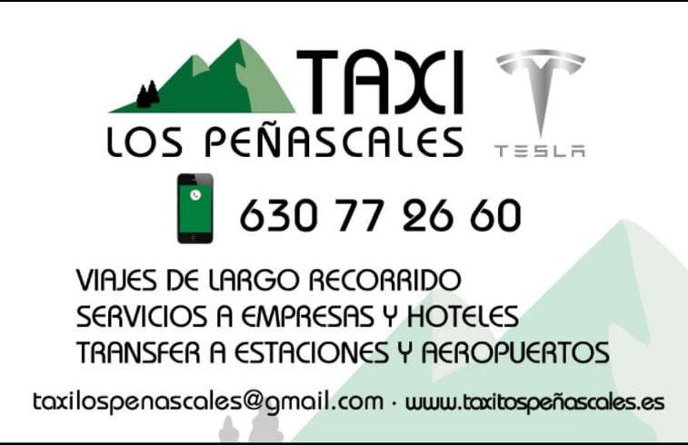 Taxi los Peñascales Las Matas y Las Rozas