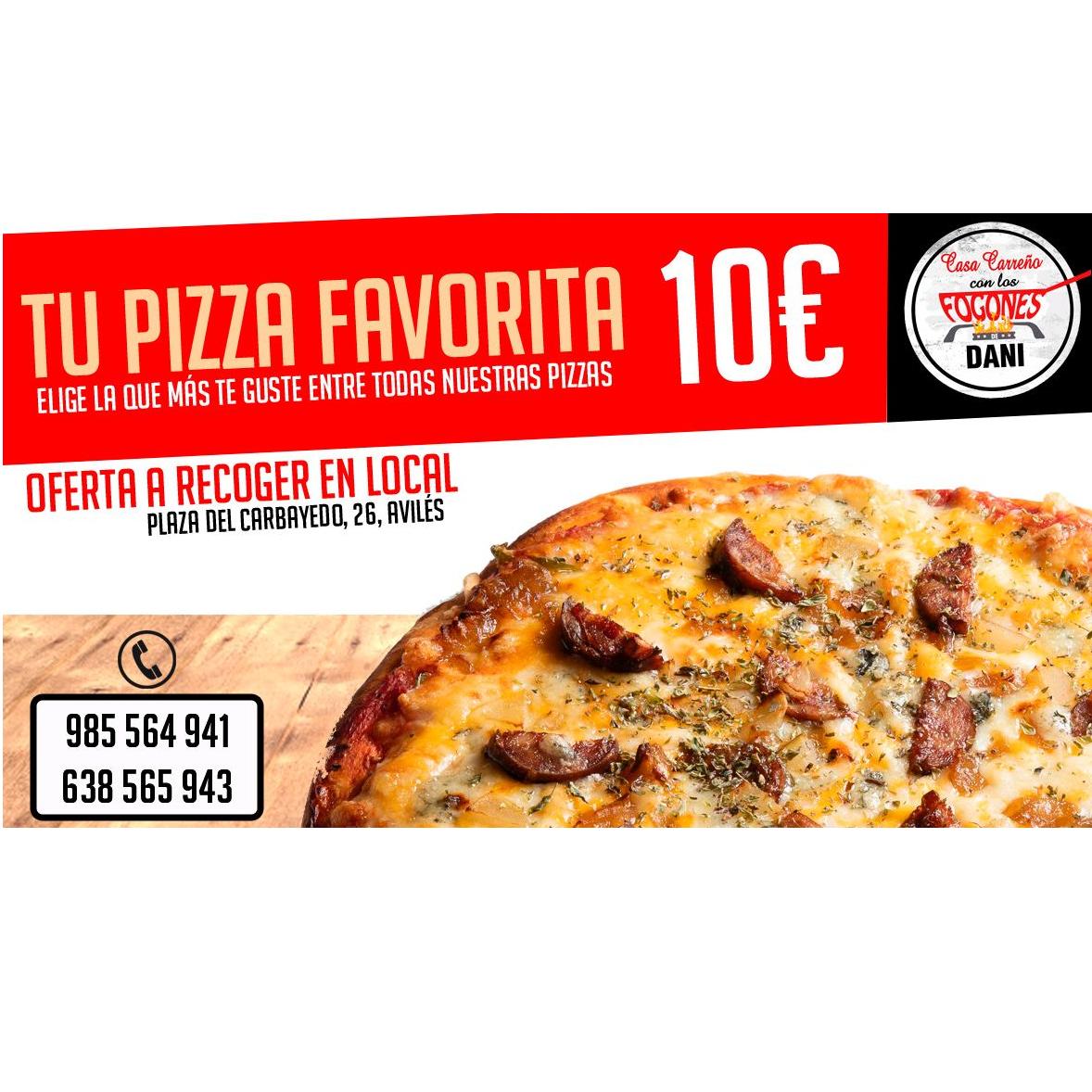 Tu pizza favorita