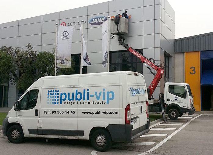 Instalaciones y montaje: Servicios de Publi-Vip