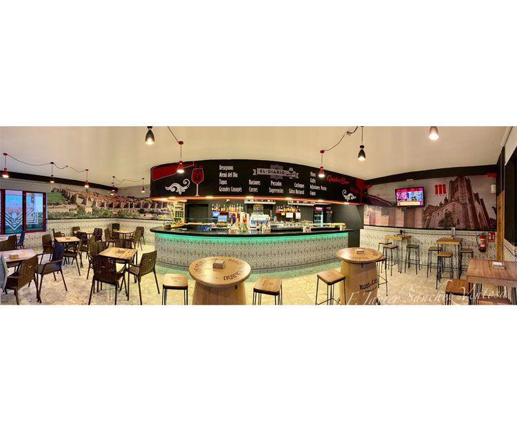 Bar con gran variedad de tapas en Ávila