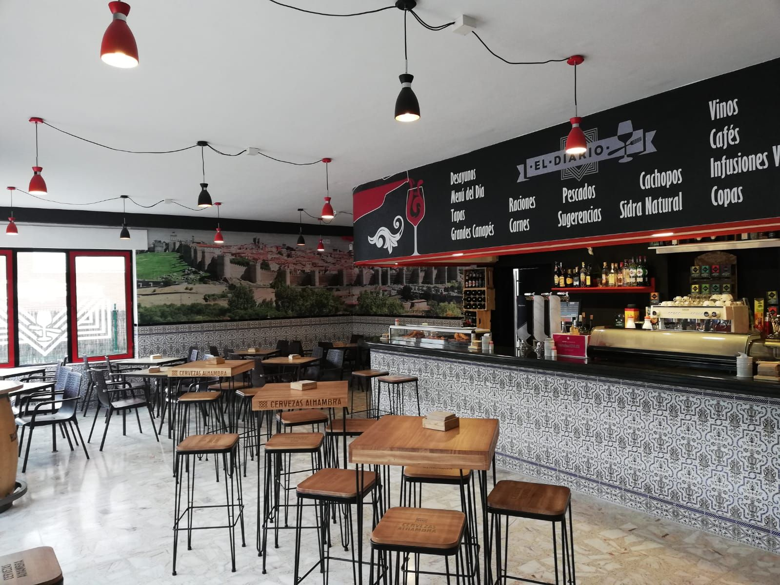 Bar donde comer bien en Ávila
