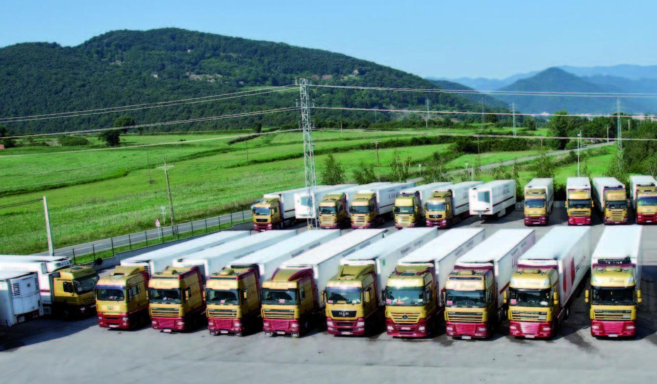 Flota de 40 camiones frigoríficos