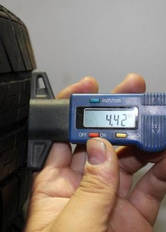 Control del desgaste de los neumáticos