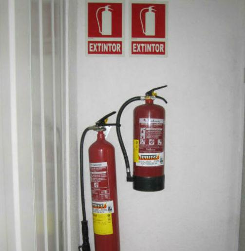 Instalaciones con medidas de seguridad