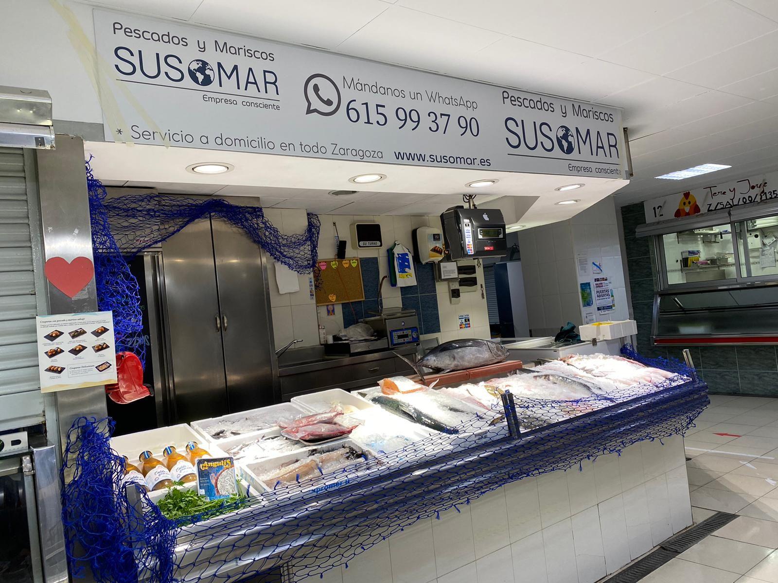 Pescadería Susomar - Mercado Casablanca en Zaragoza