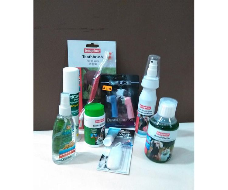 Productos para la higiene de tu mascota
