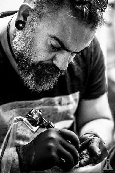 JR Verger artista tatuador en Cantabria