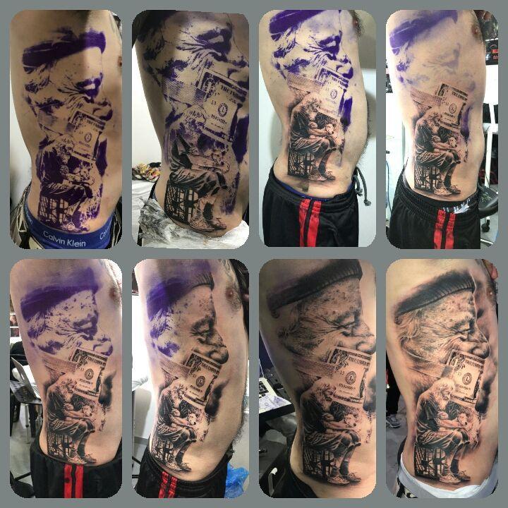 Tatuajes de surrealismo en Cantabria