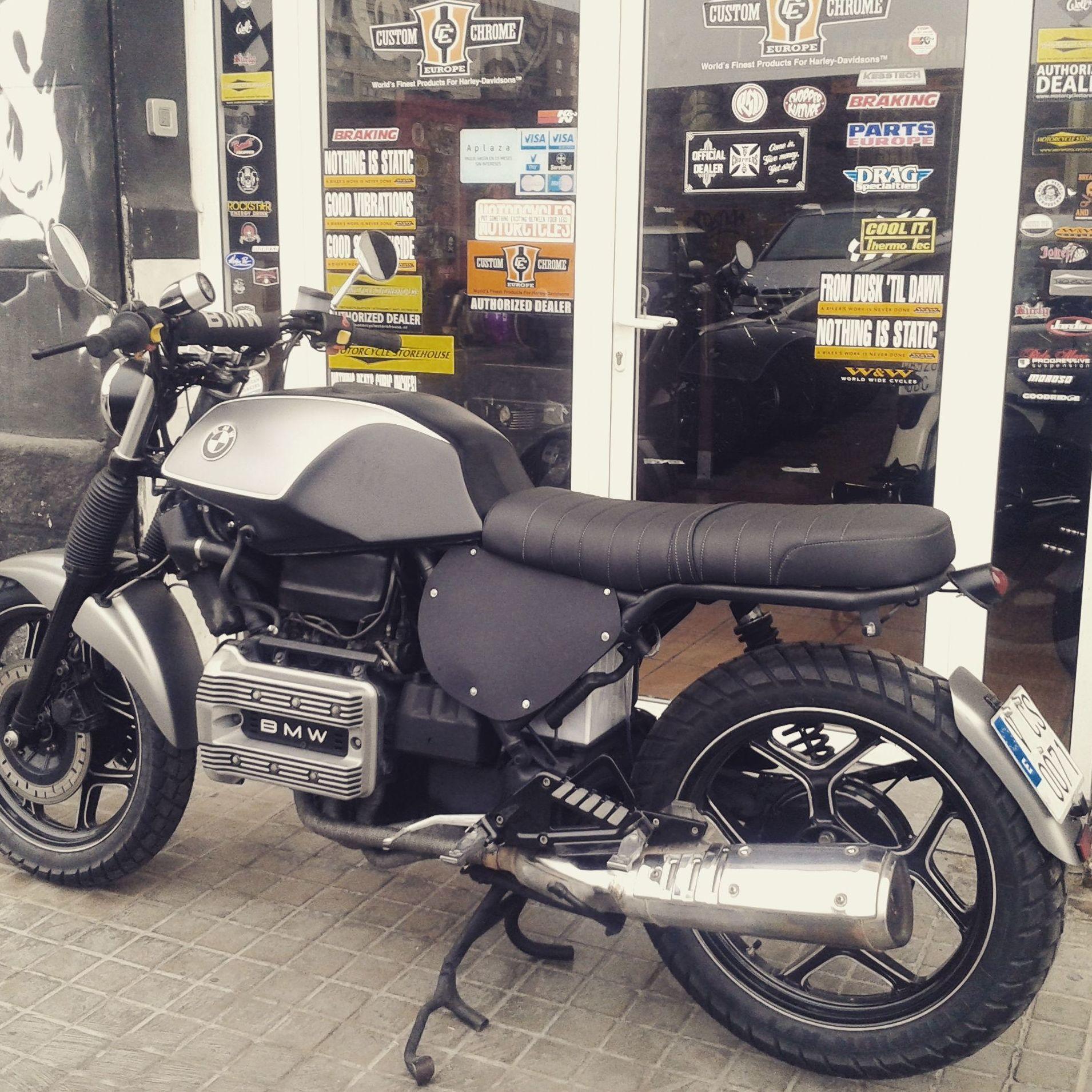 personalización motos, , scrambrer, bmwk75, motos custom en valencia, personalización motos